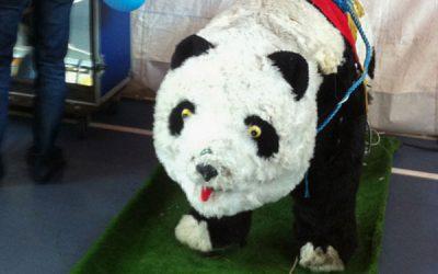 O Panda na sua Festa de Natal